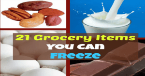 21 Grocery Items You Can Freeze!