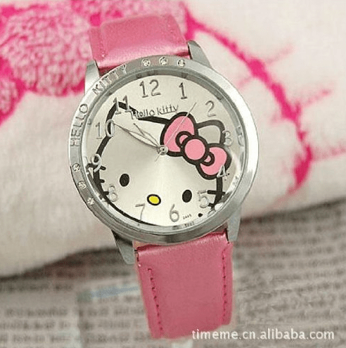 Pink Hello Kitty Watch Only $4.90 + FREE Shipping!