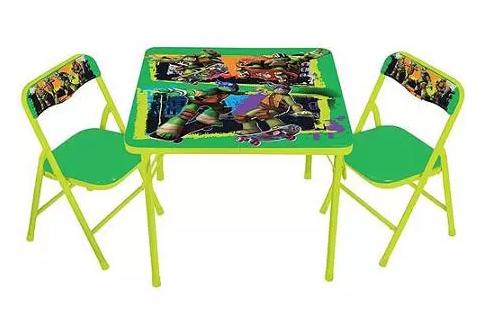 Nickelodeon Teenage Mutant Ninja Turtles Maxin & Shellaxin Activity Table Set Just $24.99 Down From $49.98