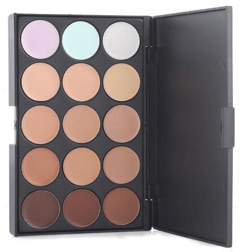 Professional 15 Concealer Makeup Palette