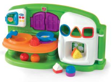 Step 2 Sizzlin' Shapes Kitchen Just $24.95! Down From $49.99!