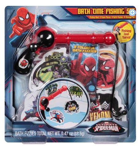 Marvel Ultimate Spider-Man Bath Time Fishing Set Just $4.00! Down From $9.88!