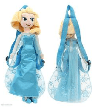 Frozen Elsa Plush Backpack Just $14.45! Down From $30!