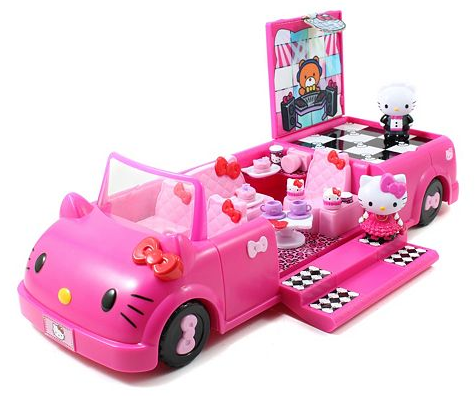 Hello Kitty Dance Party Limo Playset Only $11.90! Down From $34.99!