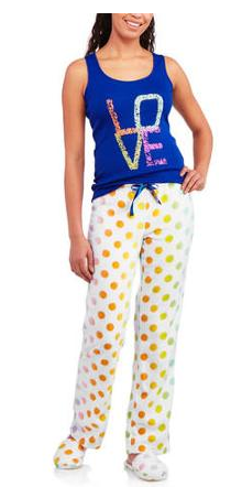 Body Candy 3 Piece Tank, Pant, and Slipper Sleepwear Set Just $5.00 Down From $17.88!