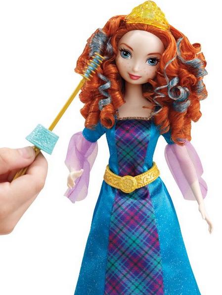 Disney Princess Colorful Curls Merida Doll