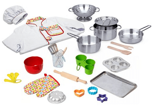 Melissa & Doug 31-pc. What's Cooking Deluxe Playset Only $26.79! Down From Up To $89.99!