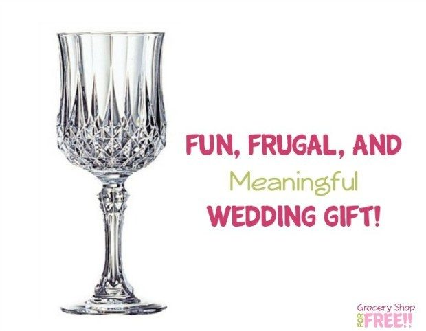 Fun, Frugal, And Meaningful Gift Idea:  Wedding Gift!