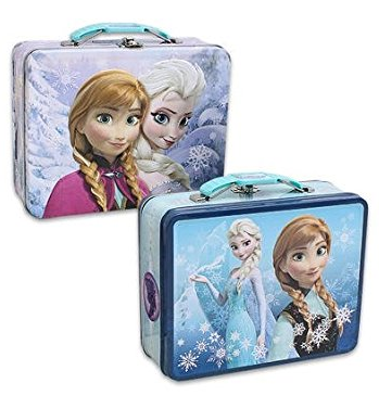 Disney Frozen Embossed Tin Lunch Box