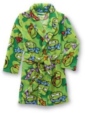 Nickelodeon Teenage Mutant Ninja Turtles Toddler Boy's Fleece Bathrobe Just $7.79! Down From $32.00!