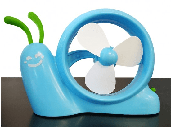 USB / Battery Operated Snail Fan Only $8.99 Down From $24.99! Ships FREE!