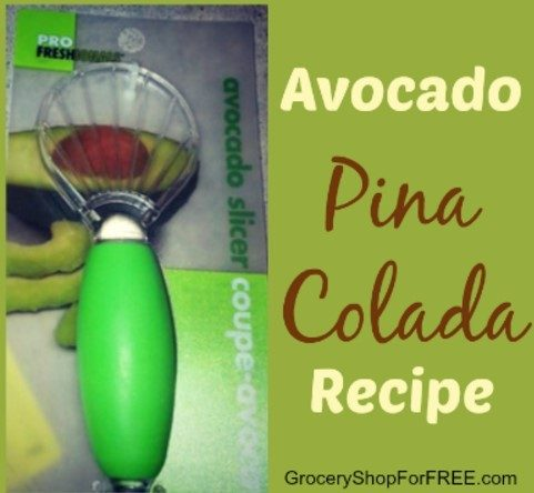 Avocado Pina Colada Recipe!