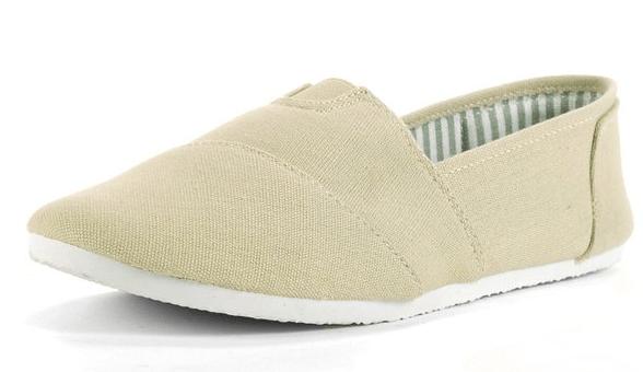 Alpine Swiss Women's Cotton Slip On Shoes
