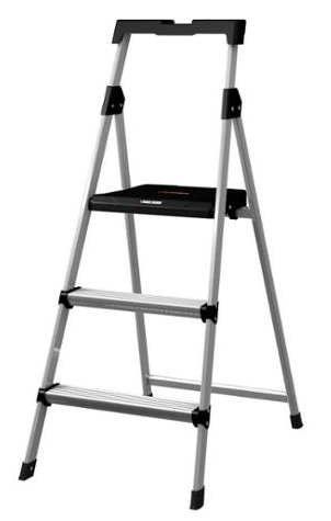 Black & Decker 3-Step Aluminum Step Stool with Tray Just $44.00! Down From $89.99!