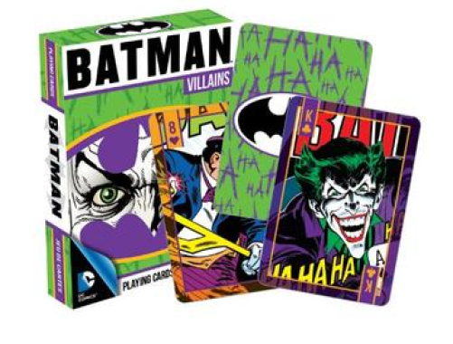 DC Comics Batman Villains Playing Cards Just $6.06! Down From $12.99!