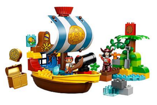 LEGO DUPLO Disney Jake & the NeverLand Pirates - Jake's Pirate Ship Bucky Just $20.00! Down From $45.99!