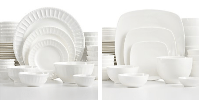 White Elements 42 Piece Dinnerware Sets Only $26.24! Down From Up To $117.00! Ships FREE!