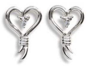 Knots of Love Stud Earrings Just $25.99! Down From $129.99!