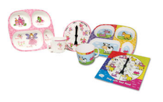 Daydream Toy Play With Your Food Princess and Animals Double Eating Set Just $13.00! Down From $29.99!