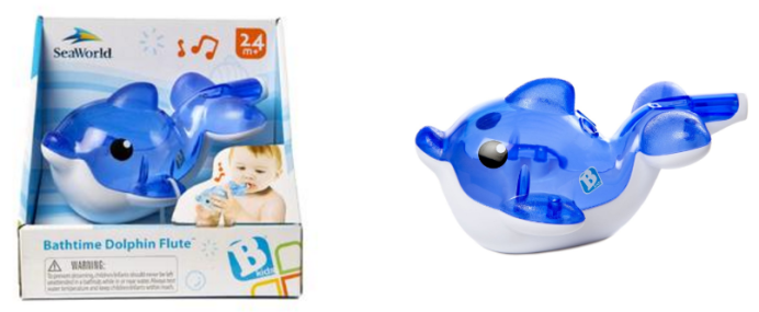 Bathtime Dolphin Flute Only $6.96! Down From $14.99!