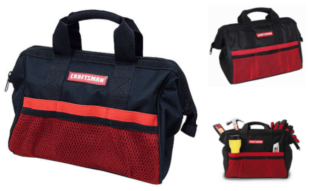 Craftsman 13 in. Tool Bag Just $4.99! Down From $9.99!