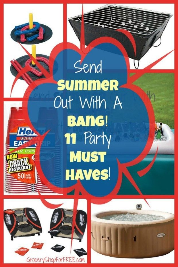 Send Summer Out With A Bang!  11 Party Must Haves!