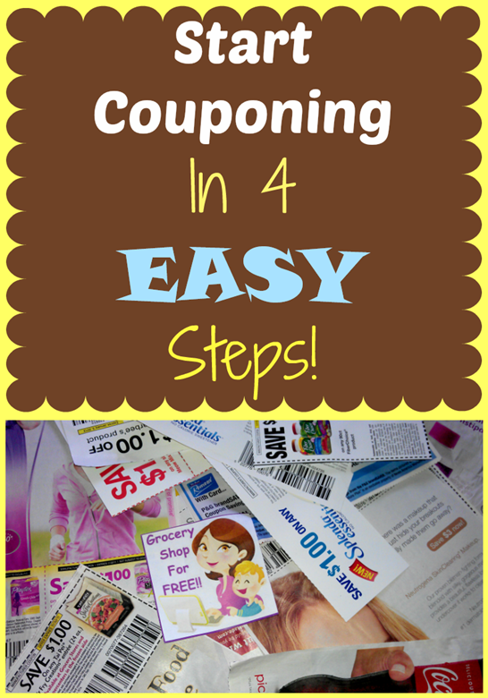 Start Couponing In 4 Easy Steps!