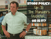Is The Store Policy Really Up To The Manager's Discretion?
