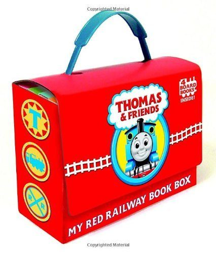 Thomas and Friends: My Red Railway Book Box Just $7.62! (reg. $14.99)