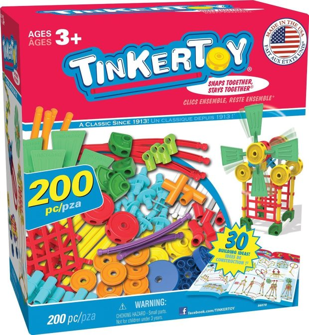 Tinkertoy 30 Model, 200 Piece, Super Building Set Just $24.99! (reg. $49.99)