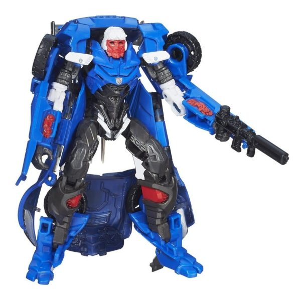 Transformers Age of Extinction Generations Deluxe Class Hot Shot Figure $8.05 + FREE Shipping with Prime!