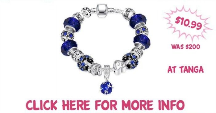50 Shades of Aqua Blue Designer Inspired Bracelet Just $10.99! Down From $200! Ships FREE!