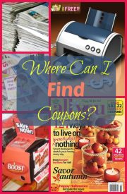 FAQ About Coupons:  Where Can I Find Coupons?