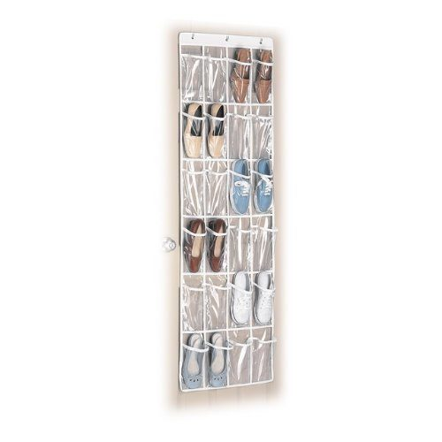 Whitmor White Crystal Collection Over-The-Door Shoe Organizer Just $6.72!