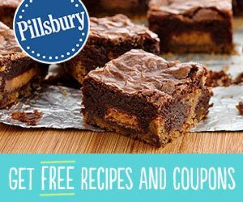FREE Recipes, Exclusive Coupons, And Samples From Pillsbury!
