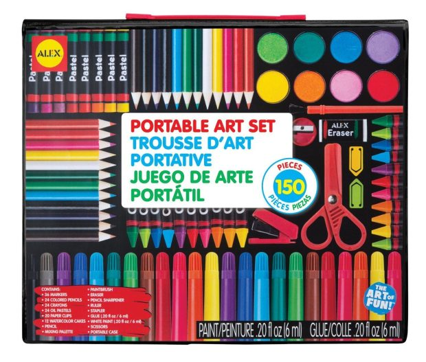 ALEX Toys Artist Studio Portable Art Set with Carrying Case Only $16.50!