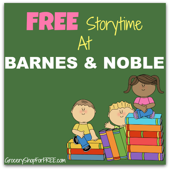 FREE Storytime At Barnes & Noble On June 13!