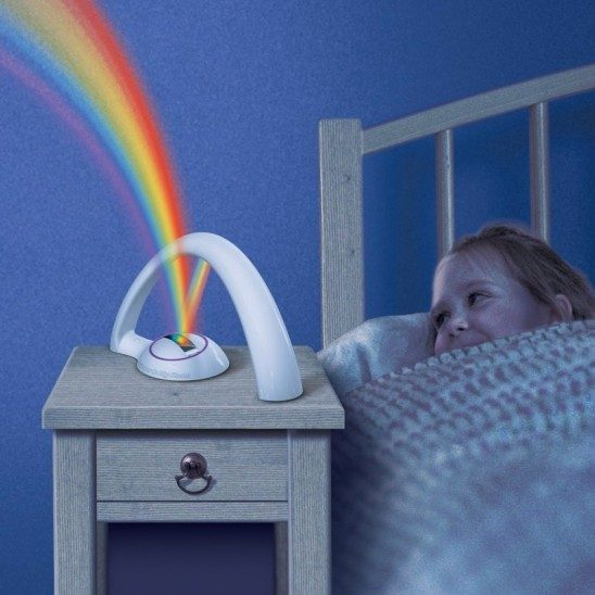 Amazing Rainbow Light Projector Just $11.99 Down From $34.99 At GearXS! Ships FREE!