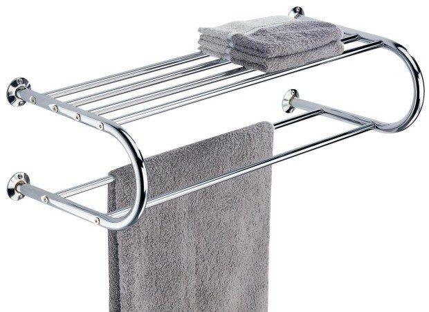 Organize It All Shelf with Towel Rack Just $15.97!