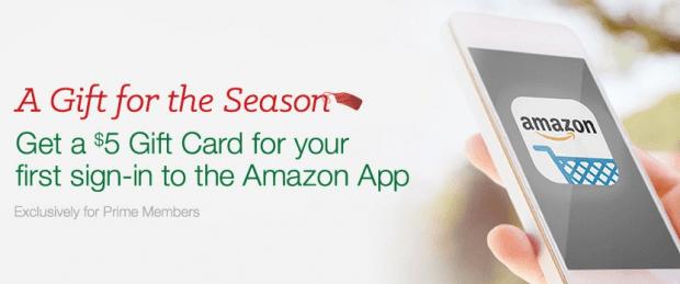 Prime Exclusive - FREE $5 Amazon Gift Card!