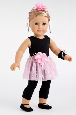 5 Piece Ballet Outfit For American Girl Dolls Only $19.97! (Reg. $26)