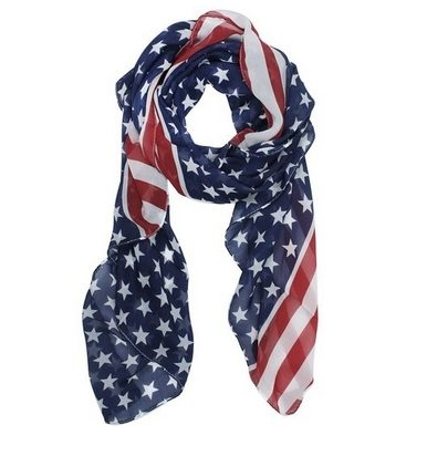 American Flag Scarf Just $2.19 + FREE Shipping!
