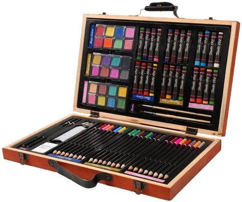 Price Drop! Darice 80-Piece Deluxe Art Set Now Just $14.21! (Reg. $39.99)