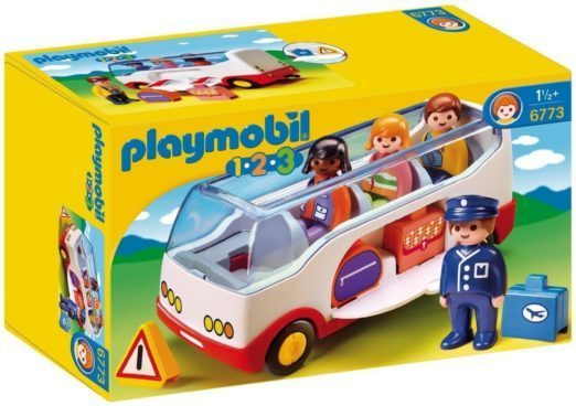 PLAYMOBIL 1.2.3 Airport Shuttle Bus Just $9.45! (Reg. $18)