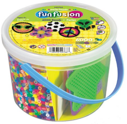 Perler Beads 6,000 Count Bucket-Multi Mix Just $8.34 Down From $14.26!