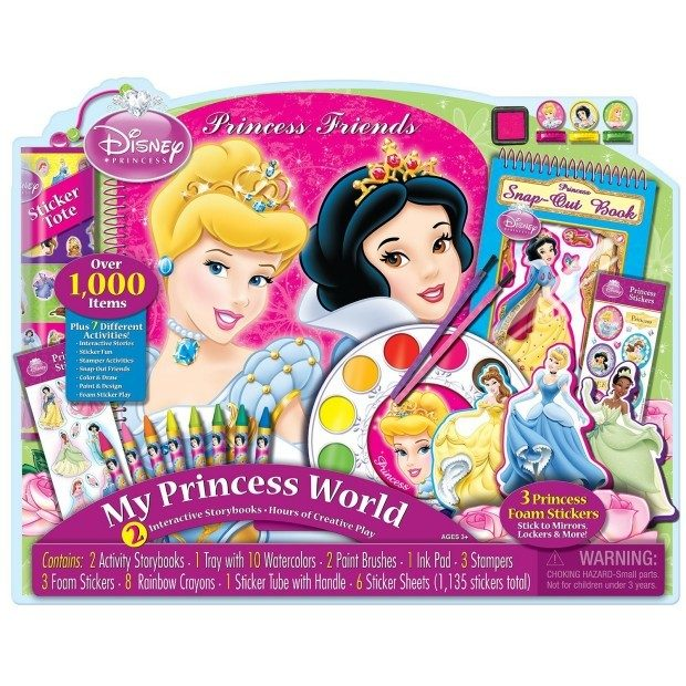 Disney Princess Friends Giant Art Collection Was $30 Now Just $12.71!