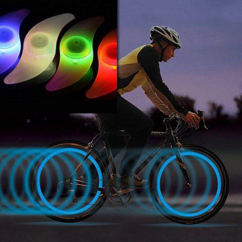 Bike Spoke Lights - 2 pk - 2/$5 Or 4/$8 Ships FREE!!