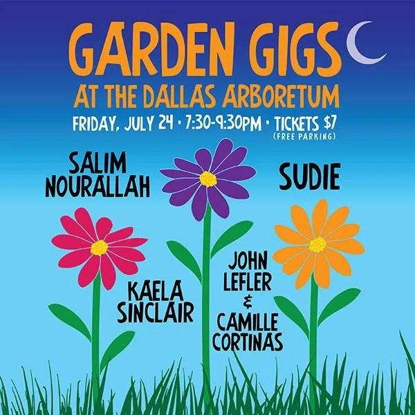 Dallas Arboretum's Garden Gigs