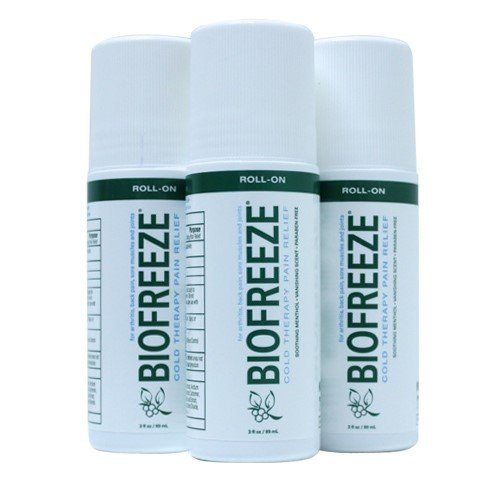 Biofreeze Pain Relieving Roll On, 3-Ounce (Pack of 3) Just $24.09!