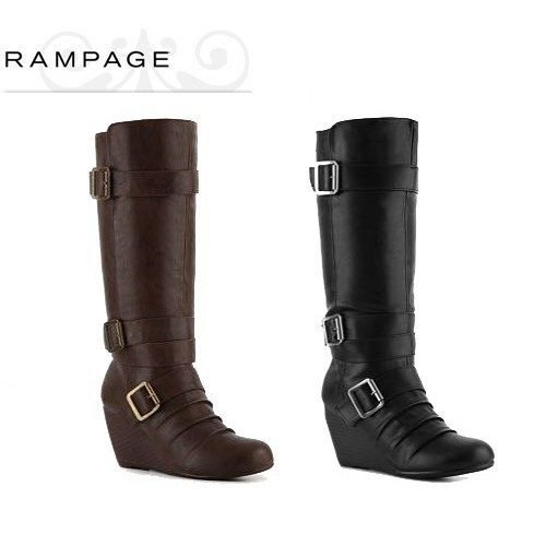 black-brown-boots-rampage